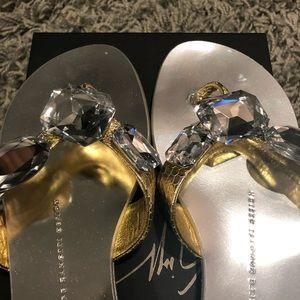 Giuseppe Zanotti Shoes - NWT! Giuseppe Zanotti Rock Infradito Thong Size 8